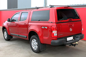 Holden Colorado Canopy
