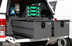 Ford Ute Storage Drawers