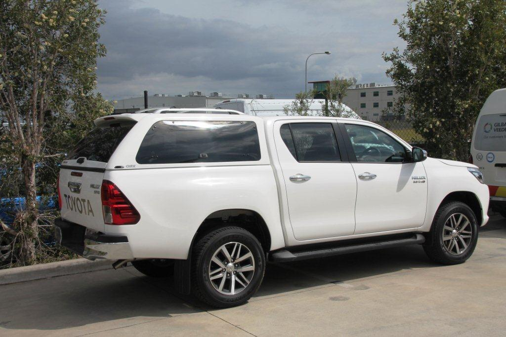 Toyota Hilux A Deck Canopy - Alpha GSX Canopy