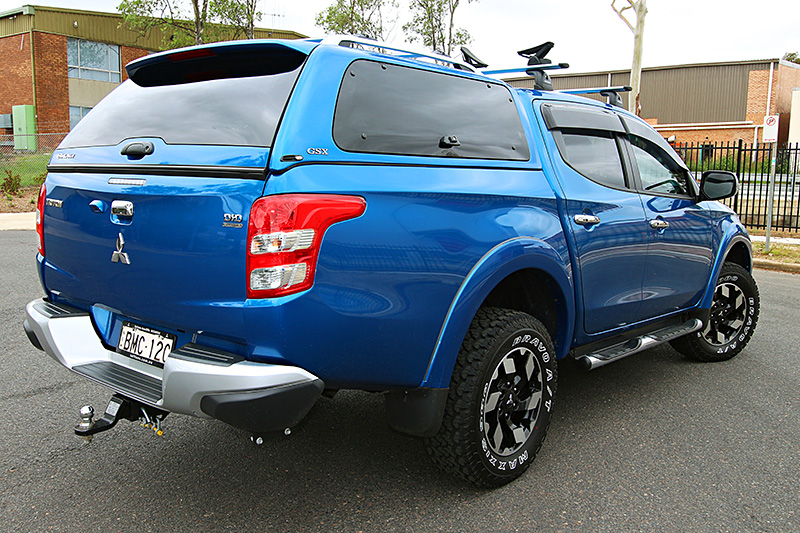 Side lift up windows - Lifestyle Canopy & Mitsubishi Triton MQ (2015+)