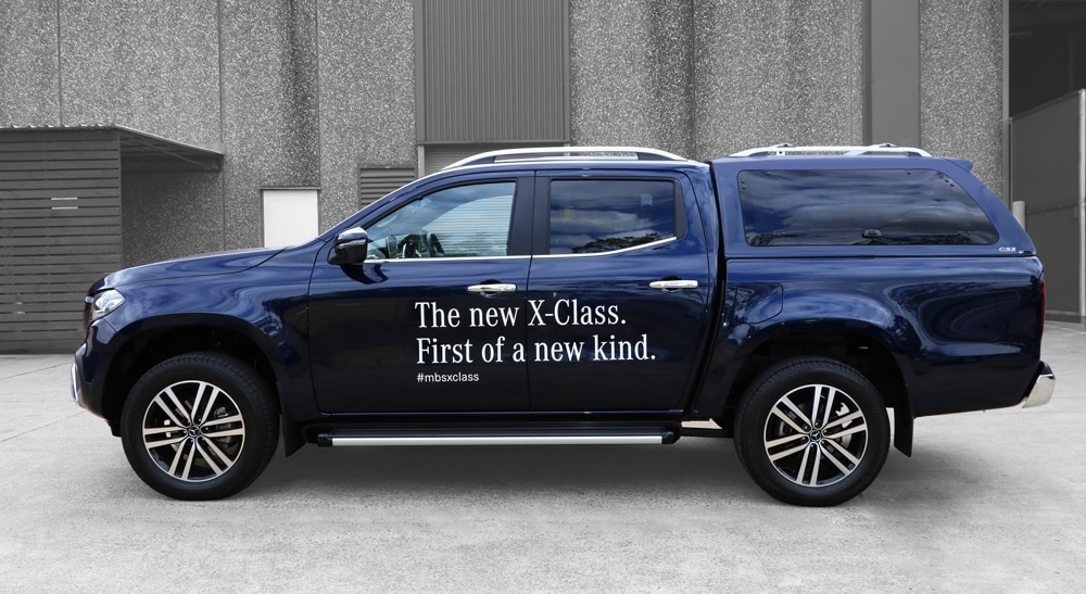 New Ute Canopy Mercedes X Class Coming Soon Exclusive